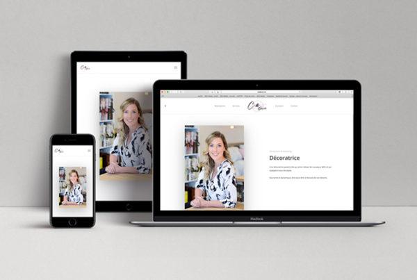 Blog professionnel pour Carol-Ann Designer